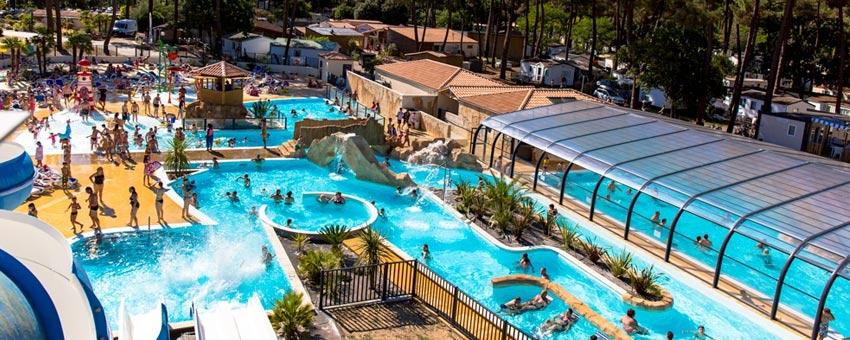 camping avec parc aquatique en Charente-Maritime