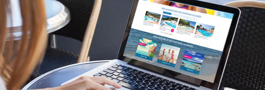 vacances au camping en ligne